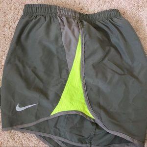 Nike Dri Fit 10k running shorts - gray